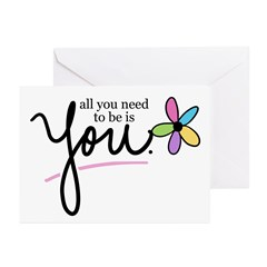 All You Need to be is You Greeting Cards (Package