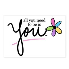 All You Need to be is You Postcards (Package of 8)