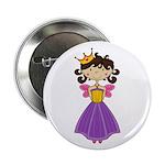"Fairytale Princess 2.25"" Button (100 Pk)"