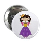 "Fairytale Princess 2.25"" Button (10 Pk)"