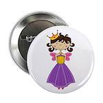"Fairytale Princess 2.25"" Button"