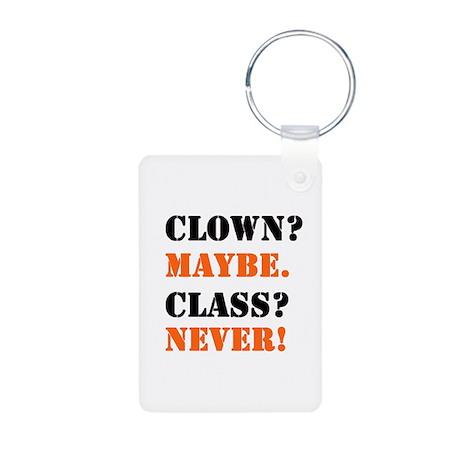 Clown? 4 Aluminum Photo Keychain