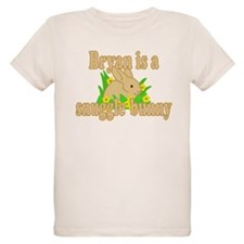 Bryan is a Snuggle Bunny T-Shirt