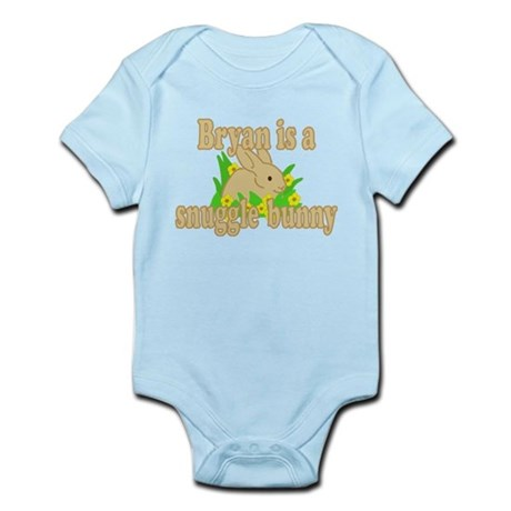 Bryan is a Snuggle Bunny Infant Bodysuit
