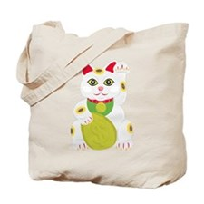Cute Asian cats Tote Bag