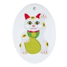 Cute Japan Ornament (Oval)