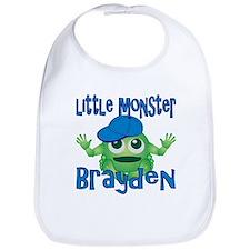 Little Monster Brayden Bib