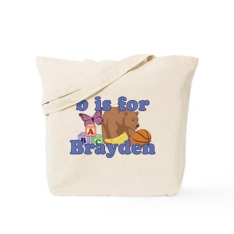 B is for Brayden Tote Bag