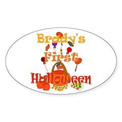 First Halloween Brady Decal