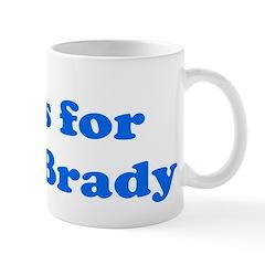 Baby Blocks Brady Mug