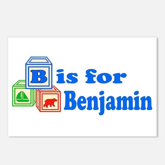 Baby Blocks Benjamin Postcards (Package of 8)