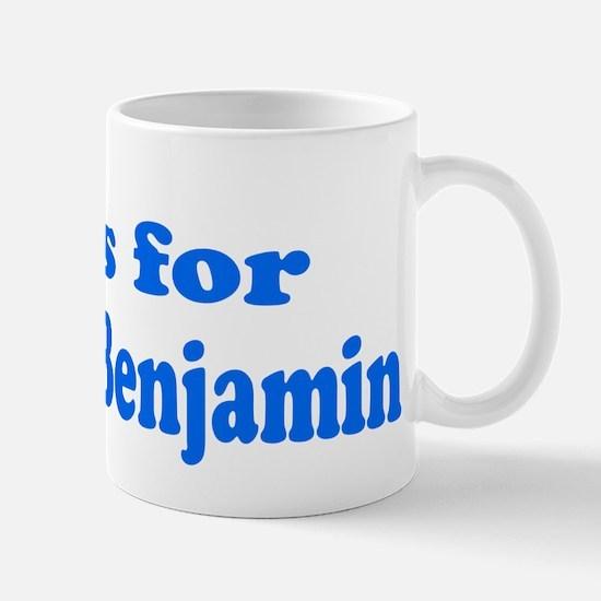 Baby Blocks Benjamin Mug
