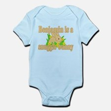 Benjamin is a Snuggle Bunny Infant Bodysuit