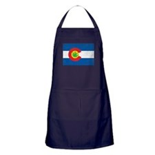 Vintage CO Leaf Apron (dark)