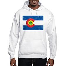 Vintage CO Leaf Hoodie Sweatshirt