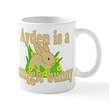 Ayden is a Snuggle Bunny Mug