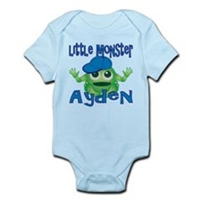 Little Monster Ayden Infant Bodysuit
