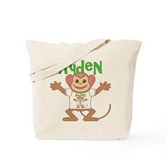 Little Monkey Ayden Tote Bag