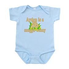 Ayden is a Snuggle Bunny Infant Bodysuit