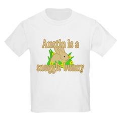 Austin is a Snuggle Bunny T-Shirt