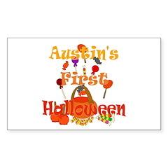 First Halloween Austin Decal