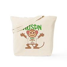 Little Monkey Austin Tote Bag