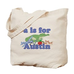 A is for Austin Tote Bag