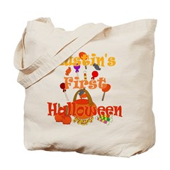 Austin's First Halloween Tote Bag