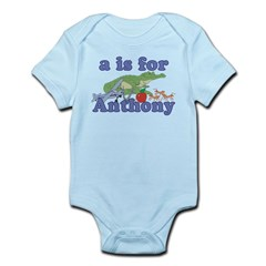 A is for Anthony Infant Bodysuit