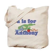 A is for Anthony Tote Bag