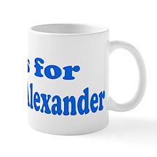 Baby Blocks Alexander Mug