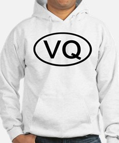 VQ - Initial Oval Hoodie