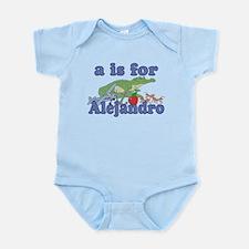 A is for Alejandro Infant Bodysuit