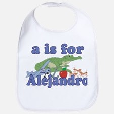 A is for Alejandro Bib