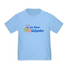 Baby Name Blocks - Alejandro T