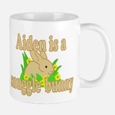 Aiden is a Snuggle Bunny Mug