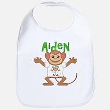 Little Monkey Aiden Bib