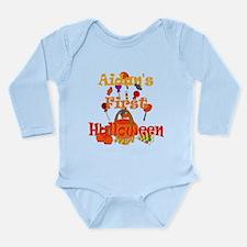 First Halloween Aidan Long Sleeve Infant Bodysuit