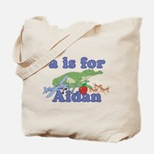 A is for Aidan Tote Bag
