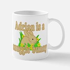 Adrian is a Snuggle Bunny Mug