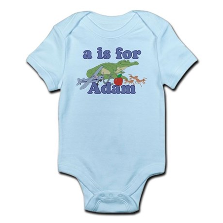 A is for Adam Infant Bodysuit