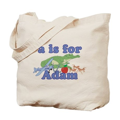 A is for Adam Tote Bag