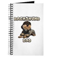 Wirehaired Dachshund Dad Journal