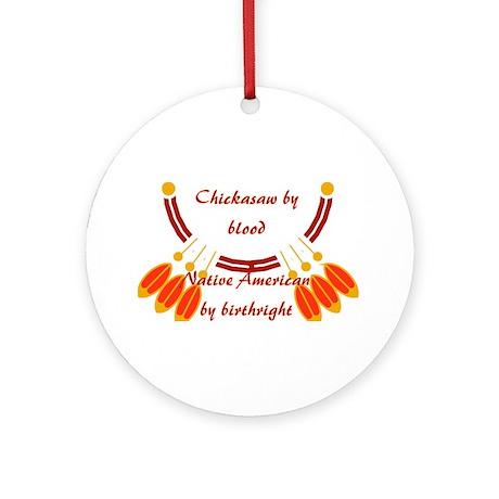 """Chickasaw"" Ornament (Round)"
