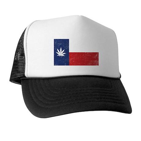 Vintage TX Leaf Trucker Hat