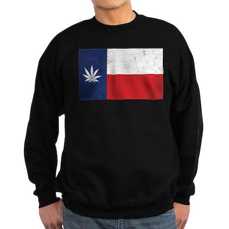 Vintage TX Leaf Sweatshirt (dark)