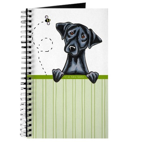 Black Lab Lover Diary Notebook Journal