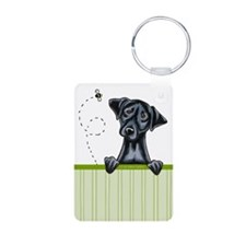 Bee Nice Black Lab Lover Keychains