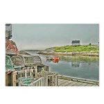 Peggy's Cove Dock View Postcards (Package of 8)