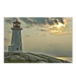 Peggy's Cove Lighhouse Postcards (Package of 8)